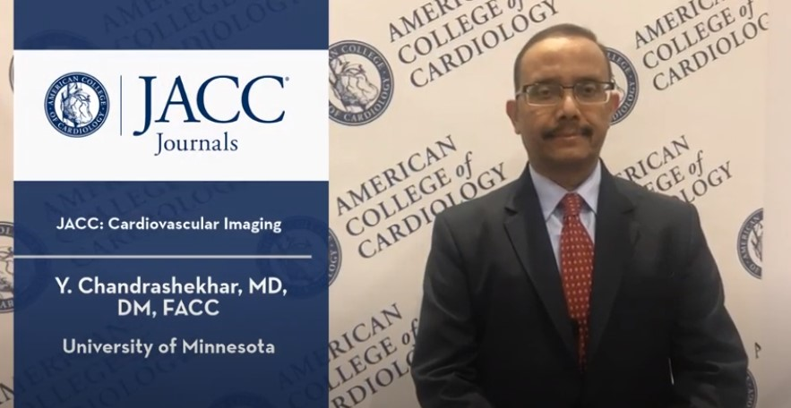 Dr. Y. Chandrashekhar Discusses 2019 Journal Highlights | JACC: Cardiovascular Imaging
