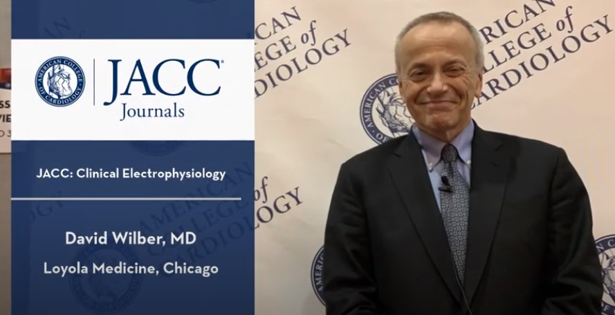 Dr. David Wilber Speaks to Journal Growth, HRS.19 | JACC: Clinical EP