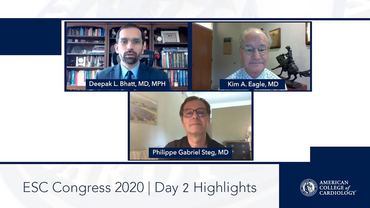 Day 2 Highlights | ESC Congress 2020