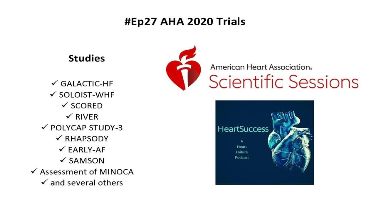 #27 AHA 2020 Trials